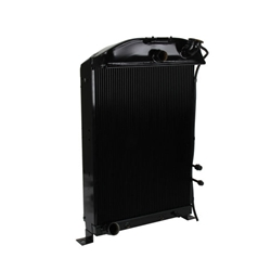 Garage Sale - Walker Z-Series '33-'34 Ford Radiator w/ A/C Condenser for Ford Engine