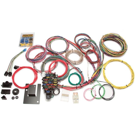 painless wiring 20106 1955 57 chevy 28 circuit wiring harness ebay
