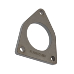GM 5.3/6.0 Truck Exhaust Flanges, Mild Steel, 2.5 Inch