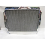 Garage Sale - AFCO Custom Polished Radiator, 25-3/4 X 22, AN-16 Inlet/Outlet