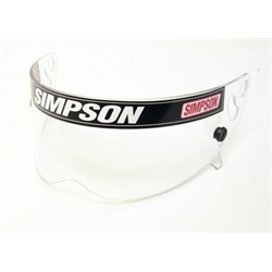 Garage Sale - Simpson 1020 Clear Shield-Speedway RX, Diamondback & X-Bandit Helmets