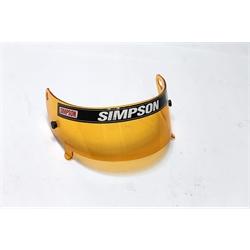 Garage Sale - Simpson 88603A Amber Shield for Speedway Shark & Invader Helmet