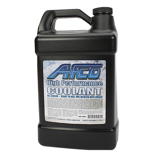 AFCO 100001 High Performance Antifreeze Coolant, 1 Gallon