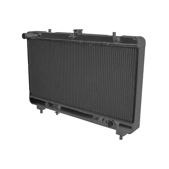Afco 80259B 2010-Up Camaro Aluminum Radiator, Anodized Black Finish