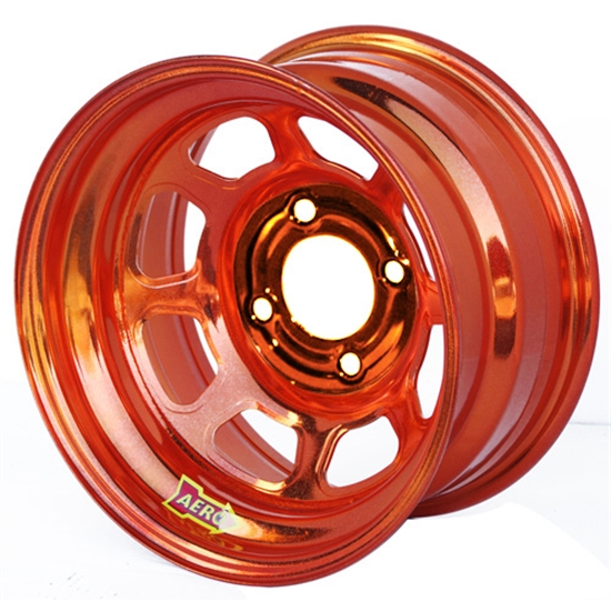 Aero 31-974210ORG 31 Series 13x7 Wheel, Spun 4 on 4-1/4 BP 1 Inch BS