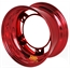 Aero 58-980540RED 58 Series 15x8 Wheel, SP, 5 on WIDE 5 BP, 4 Inch BS