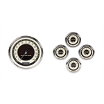 Classic Instruments CH59NT54SLF 59-60 Chevy Impala/El Camino Gauge Set