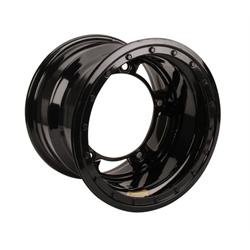 Bassett 55SR3SL 15X15 Wide-5 3 Inch BS Silver Beadlock Wheel