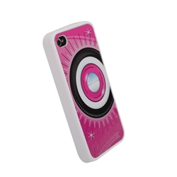 Garage Sale - Steelie & Whitewall iPhone Cover - Pink