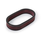 Edelbrock 1220 Air Cleaner Element Air Filter, Oval, 2.5 x 7 x 13.5in.