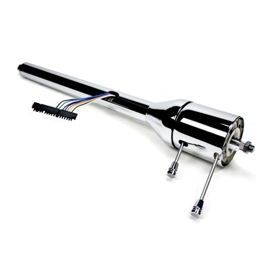 Ididit 1120280020 Tilt Wheel Steering Column, 28 Inch, Chrome