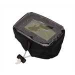 Outerwears Black Mychron 3 Data Logger Scrub Bag, Clear, Draw Strings
