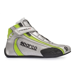 Sparco 00121137SIVD Formula Plus Racing Shoes, Euro Size 37