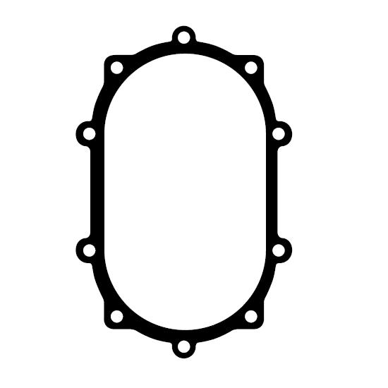 Winters Performance 6729 Replacement Rear Cover Gasket, Paper