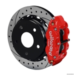 Wilwood 140-13321-DR FNSL 4R Rear Brake Kit, Small Ford 2.36, Bronco