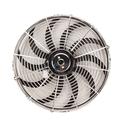 Chrome Curved Blade Electric Fan
