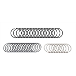 1959-1966 Buick 401 Nailhead Piston Rings/Ring Set-.040 Oversize-Egge