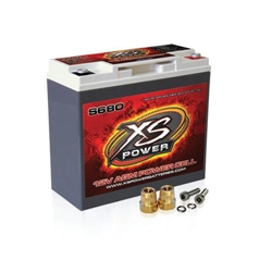XS Power S680 AGM Battery, S680, 12 Volt, 7.13 x 3.03 x 6.57 Inch