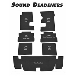 Repops CA136 Carpet Sound Deadner Kit for 1967-69 Camaro, 7-Piece