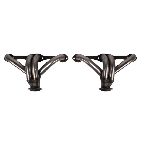 ZZ-4 Tight-Fit Small Block Chevy Block Hugger Headers, Plain