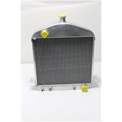 Garage Sale - 1917-23 T-Bucket Aluminum Radiator, Buffed Finish