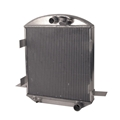 AFCO 1923 T-Bucket Aluminum Radiator, Chevy Engine
