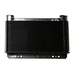 AFCO LL7B Stacked Plate Oil Cooler, 5-3/4 x 11 x 1-1/2 Inch, 24-Pass