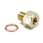 Auto Meter 2278 Sender Adapter Fitting, Brass, 1/8 Inch NPT - M12x1.75