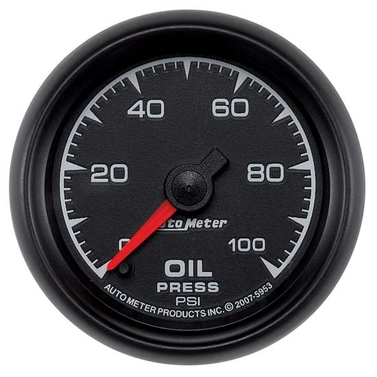 Auto Meter 5953 ES Digital Stepper Motor Oil Pressure Gauge