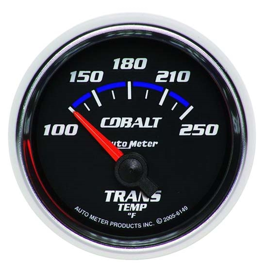 Auto Meter 6149 Cobalt Air-Core Transmission Temperature Gauge