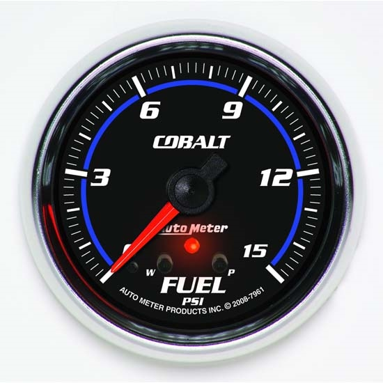 Auto Meter 7961 Cobalt Digital Stepper Motor Fuel Pressure Gauge