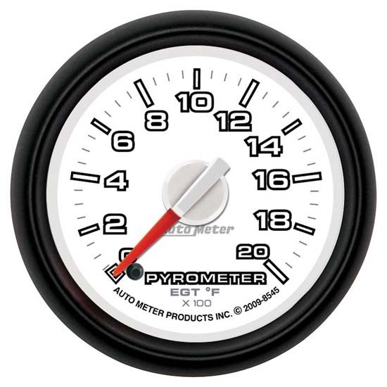 Auto Meter 8545 Gen 3 Dodge Digital Stepper Motor Pyrometer Gauge