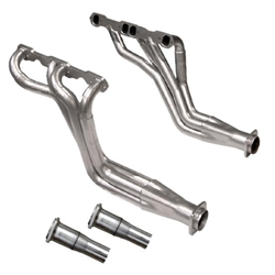 Dynatech® Long Tube Headers, 1-5/8 - 1-3/4 x 3, 2-1/2 Reducer, Ceramic Coated