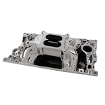Edelbrock 75164 262-400 Chevy EnduraShine RPM Air-Gap Vortec Intake
