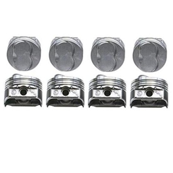 KB Claimer Chevy 350 Hypereutectic Pistons, .150 Dome, 5.7 Rod