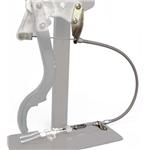 Lokar EC-8003HT E-Hand-Brake Connector Cable, 39-48 Chevy, Stainless