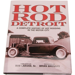 Book - Hot Rod Detroit Hardcover