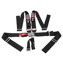 Simpson 5 Point Harness, Latch &amp; Link Sprint Car Safety Seat Belt