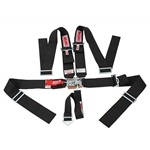 Simpson 5 Point Harness, Latch & Link Sprint Car Safety Seat Belt