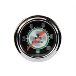 Stewart Warner 360DP Green Line 2-1/16 Mechanical Oil Pressure Gauge