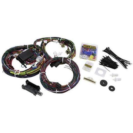 painless wiring 20122 1969 1970 mustang 22 circuit wiring harness speedway motors america s