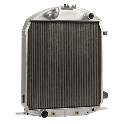 Griffin 4-228BG-FAA 1928-29 Ford Model A Aluminum Radiator, Ford V8