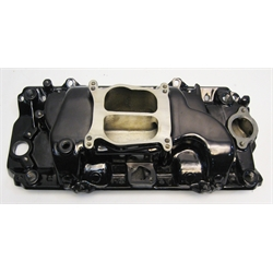 Garage Sale - 396-502 BBC Power + Intake Manifold, Black Chrome