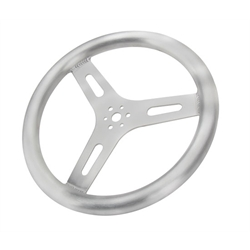AFCO Pro Grip Steering Wheel, 15 Inch, Flat