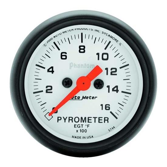auto meter 5744 phantom digital stepper motor pyrometer