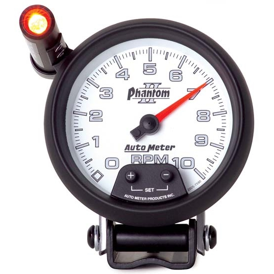 Auto meter 7590 phantom ii air core pedestal tach 10k rpm for Rpm motors lincoln ne