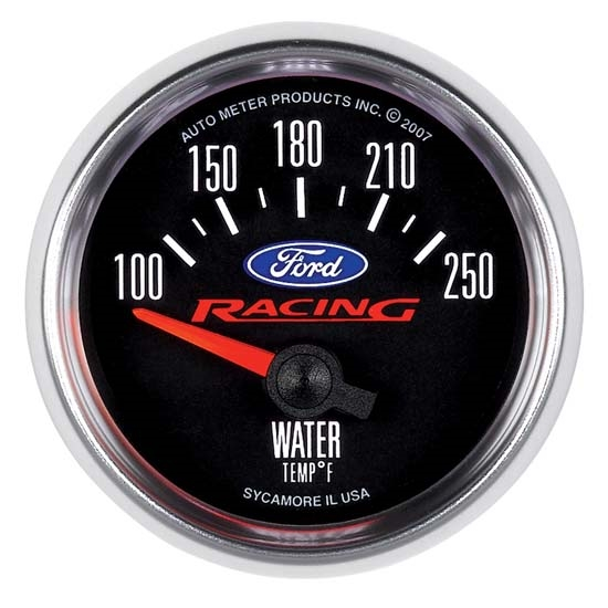 Auto Meter 880077 Ford Racing Air-Core Water Temperature Gauge