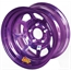 Aero 52-984540PUR 52 Series 15x8 Wheel, 5 on 4-1/2 BP, 4 Inch BS IMCA