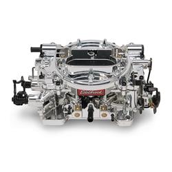 Edelbrock 180549 Thunder Series AVS Carburetor, 650 cfm, Manual Choke