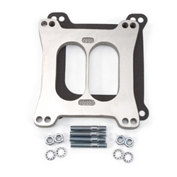 Edelbrock 8715 4- Barrel Carburetor Spacer, Aluminum, 0.500 Inch